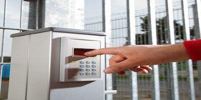 Cutting-edge efficiency with futuristic biometric access control