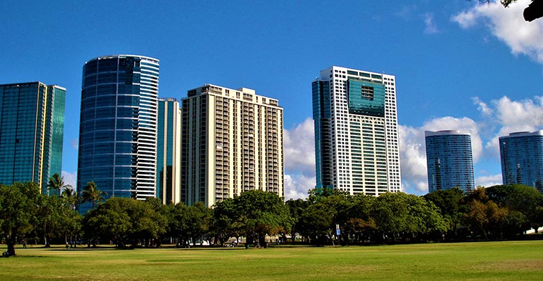 office buildings and commercial office parks